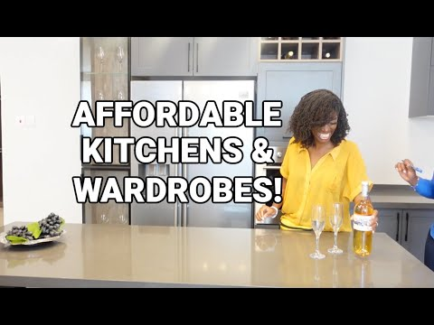 AFFORDABLE CUSTOM MADE KITCHENS AND WARDROBES| SHOPPING IN GHANA