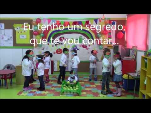 """""""Hino  da fruta 2016/2017"""" - JI de Leomil, Moimenta da Beira - Viseu"""