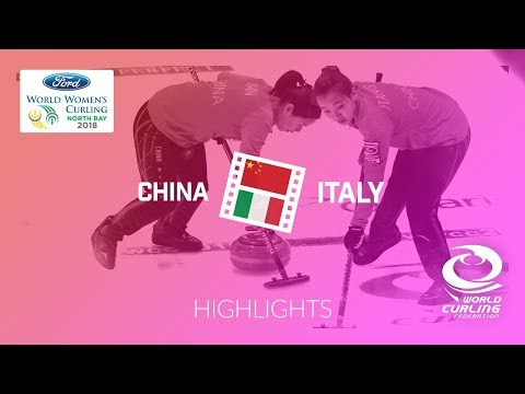 HIGHLIGHTS: China v Italy – Round-robin – Ford World Women's Curling Championship 2018