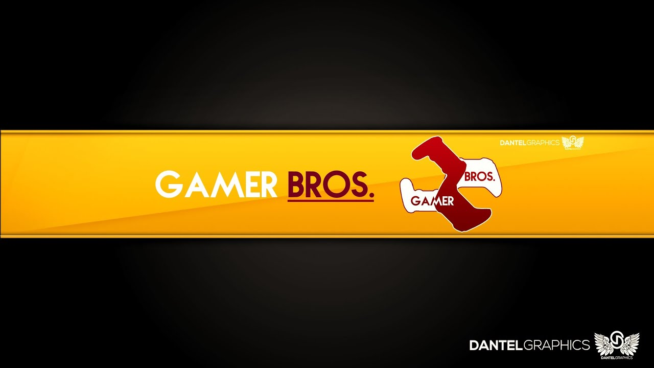 Souvent Gamer Bros | Logo and Youtube Background | Speed Art - YouTube QT34