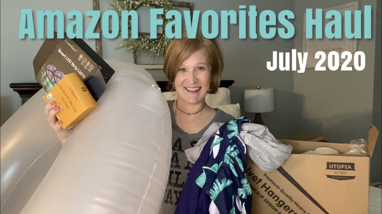 Amazon Favorites Haul | July 2020 | Bathing Suits, Summer Fun Items, Gadgets, and More!