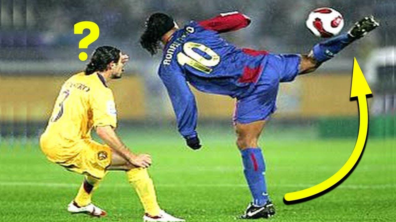 Khi Ronaldinho vận dụng hết 72 bộ kĩ năng bóng đá trong cùng một trận đấu
