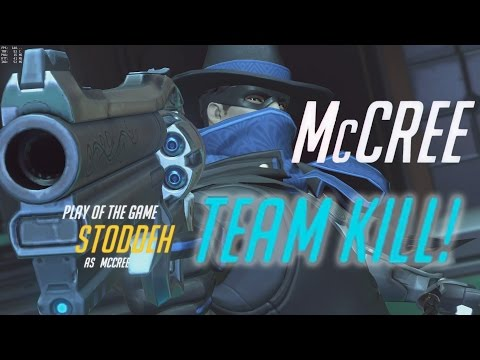 McCREE SOLO TEAM WIPE | PLAY OF THE GAME - Overwatch