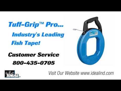 Tuff Grip™ Blued Steel™ Fish Tapes