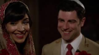 Schmidt and Cece forever - New Girl wedding scene 5x22
