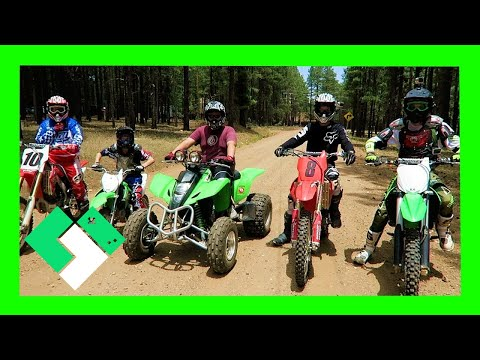 Family Dirt Bike Ride up in Forest Lakes (Day 1922)