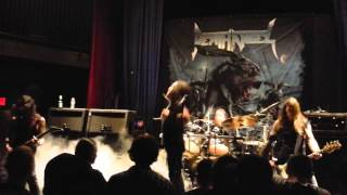 Death Angel performing metal classic Thicker Than Blood