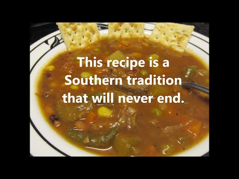Old Fashion Beef and Vegetable Soup