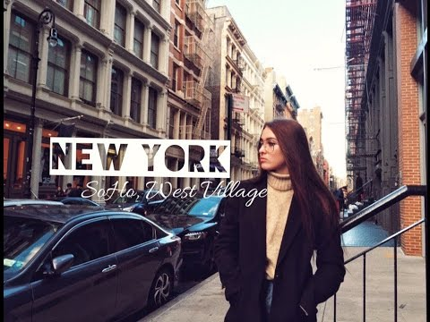 NEW YORK VLOG #5 | Кэрри Брэдшоу, SoHo, High Line Park