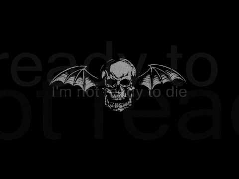 Avenged Sevenfold - Not Ready to Die [lyric video]
