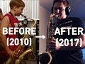 watch he video of FLY ME TO THE MOON - TENOR SAX RUSSIAN BOY REHEARSAL AFTER 7 YEARS