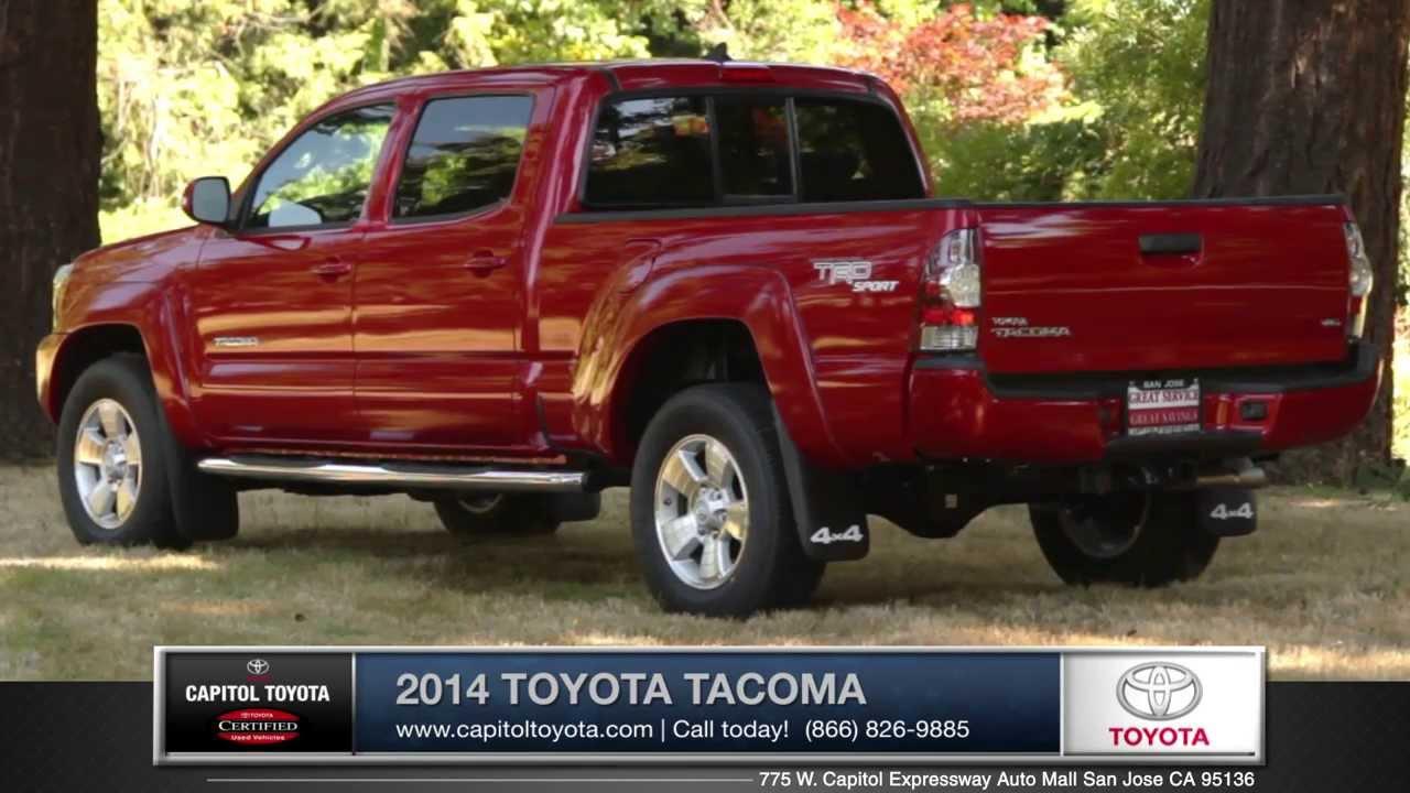 2014 Toyota Tacoma Walk Around | Capitol Toyota, San Jose, CA, Auto Mall  Santa Clara County