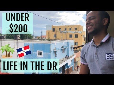UNDER $200 Rent Santiago De Los Caballeros, Dominican Republic Apartment Tour!