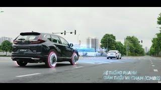 Honda SENSING - Hệ thống công nghệ an toàn tiên tiến trên Honda CR-V
