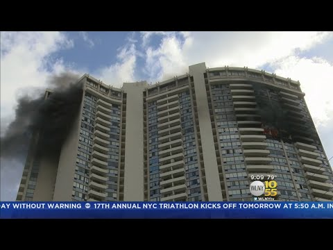 Honolulu High-Rise Fire Latest