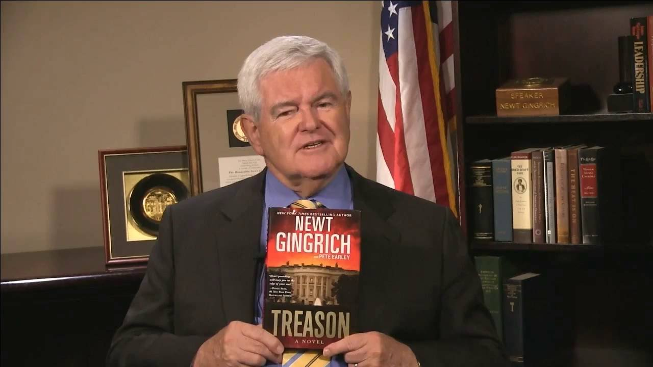 Treason by Newt Gingrich and Pete Earley - YouTube
