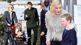 Cate Blanchett's Family - 2018 {Husband Andrew Upton & Kids Edith, Dashiell, Roman & Ignatius Upton}