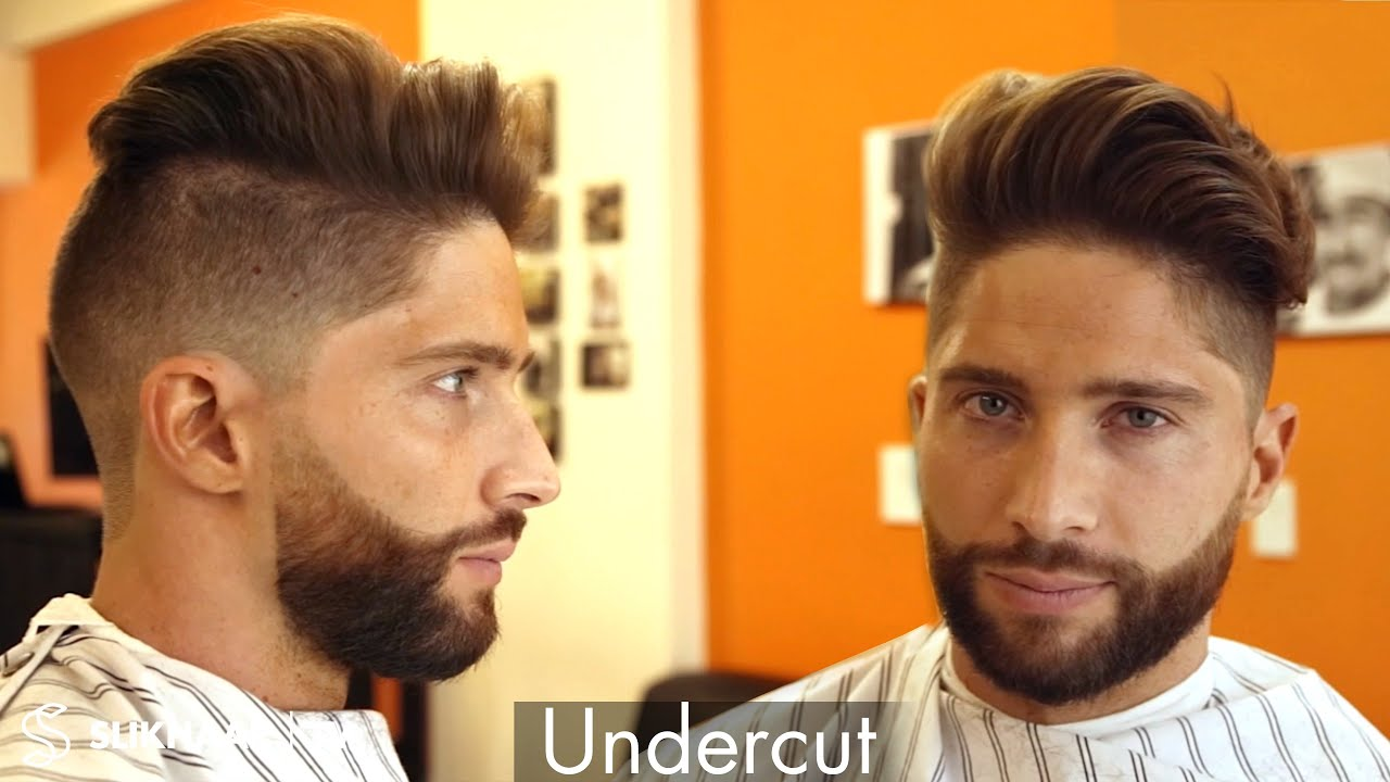 Undercut Beard How To Style Hair Mens Hair Inspiration YouTube