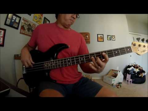 """You Dropped A Bomb On Me"" (The Gap Band) Bass Cover"