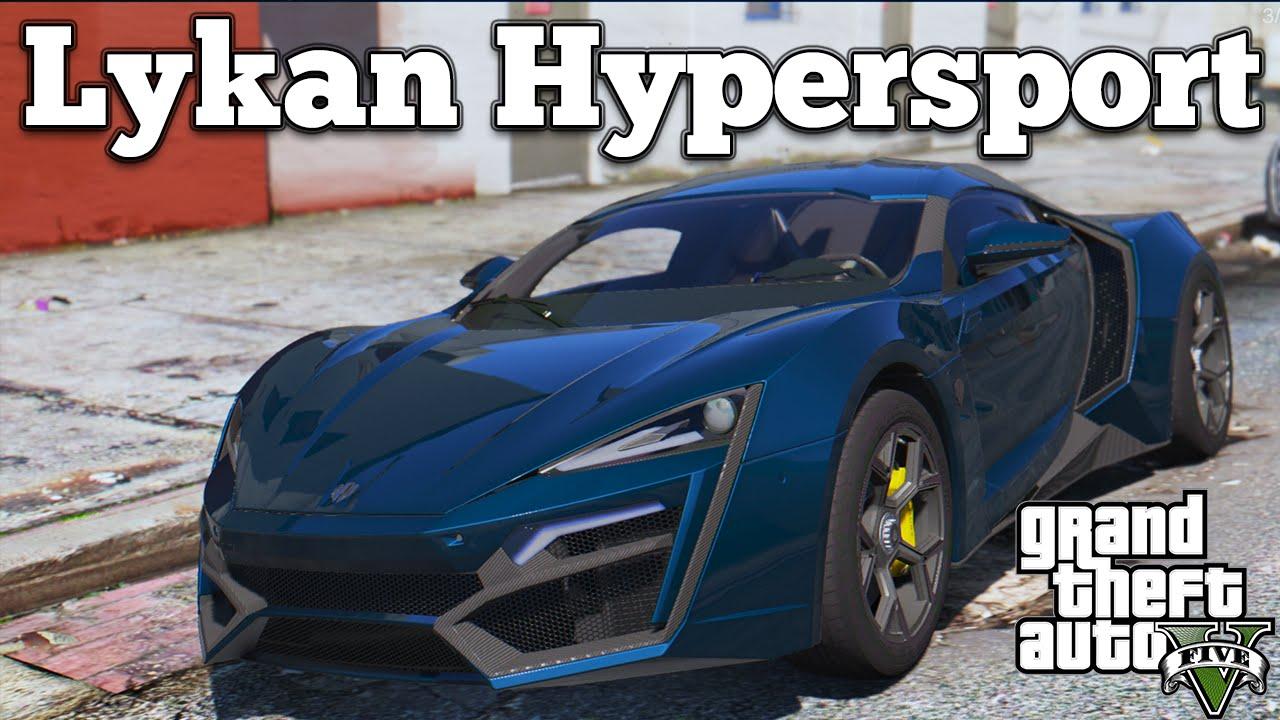 Lykan Hyper Sport >> GTA V PC Mods - 2014 Lykan Hypersport WMotors [DOWNLOAD] - YouTube