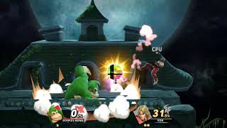 Donkey Kong VS Ken: Super Smash Bros Ultimate