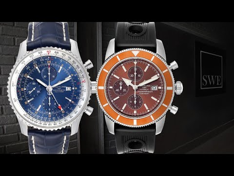 ▶ Breitling Navitimer 01 Black Index Dial, Stainless Steel & Leather, Chronograph - REVIEW AB012721 from YouTube · Duration:  10 minutes 58 seconds