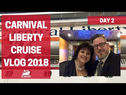 Carnival Liberty Cruise Vlog - Day 2 - Freeport