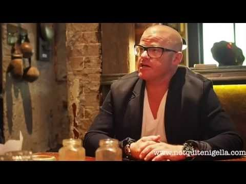 Heston Blumenthal Interview, The Grounds, Alexandria, Sydney