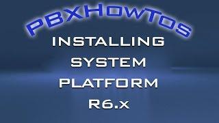 Installing System Platform R6.x