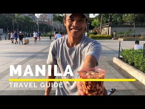 MANILA PHILIPPINES Travel Guide in 4K (2019) | Happy Trip