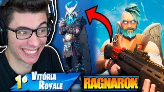 I RELEASED RAGNAROK! THE SUPREME SKIN OF THE NEW SEASON! Fortnite: Battle Royale