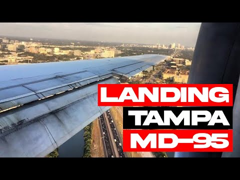 Landing At Tampa International Airport (TPA)- Delta Airlines (HD) (60FPS)
