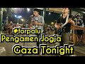 prayforpalu GAZA TONIGHT   PENGAMEN JOGJA