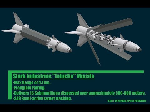 KSP/Iron Man Jebico/Jericho Missile