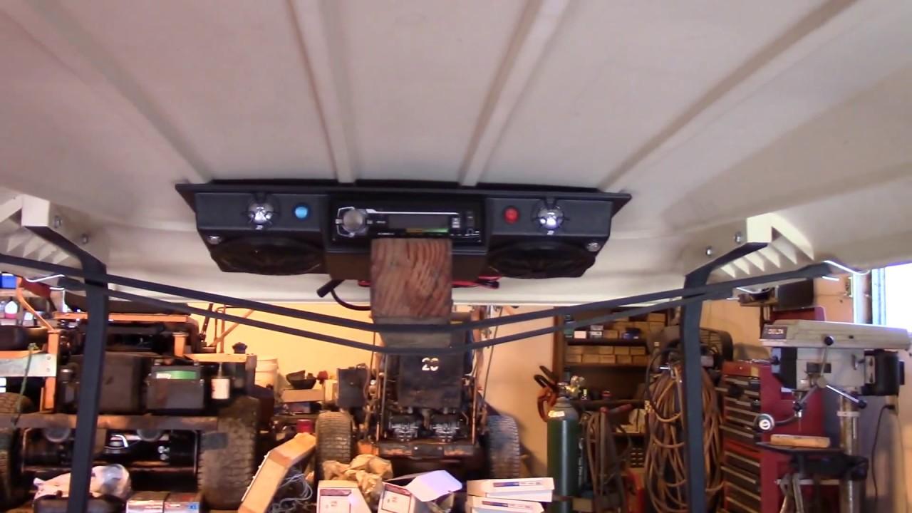 installing radio on golf cart part one