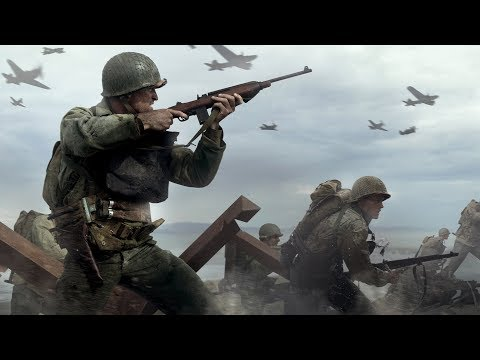 Call of Duty: WWII \ Gameplay - Mission 1: D-Day Operation, Beginning, Intro