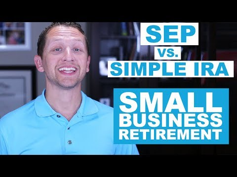 "<span class=""title"">SEP Vs SIMPLE IRA : Small Business Retirement Plans</span>"