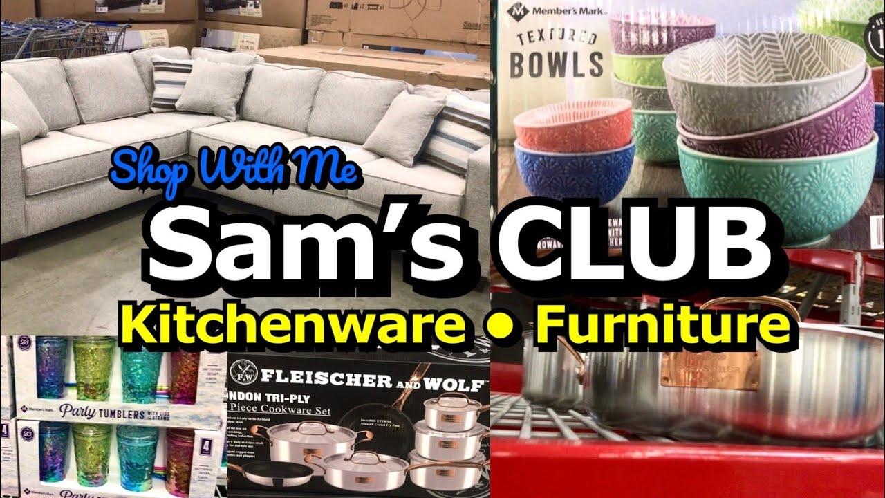 SAM'S CLUB SHOP WITH ME KITCHENWARE & FURNITURE | VIRTUAL SHOPPING