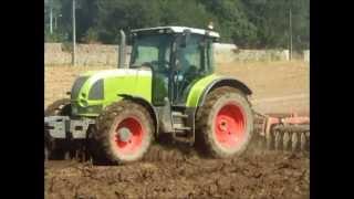 Preparação do solo para a sementeira de erva 2013 - S.A.P Barbosas, Lda - Bcl - Portugal
