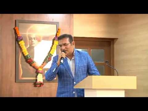 Abhijeet Bhattacharya singing at VESIM Literati Fest Season 2