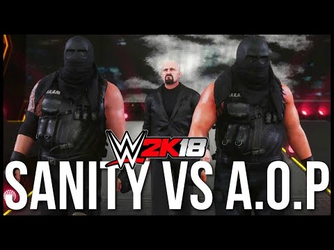 WWE 2K18 | SAnitY vs Authors of Pain