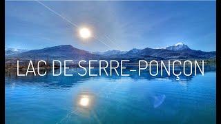 Balade matinale de Embrun au Lac de Serre-Ponçon, nos vacances à la montagne 2/4, #vlog