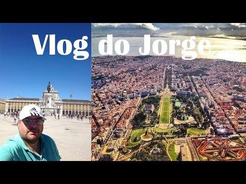 Vlog do Jorge 12 - Visita ao Terreiro do Paço