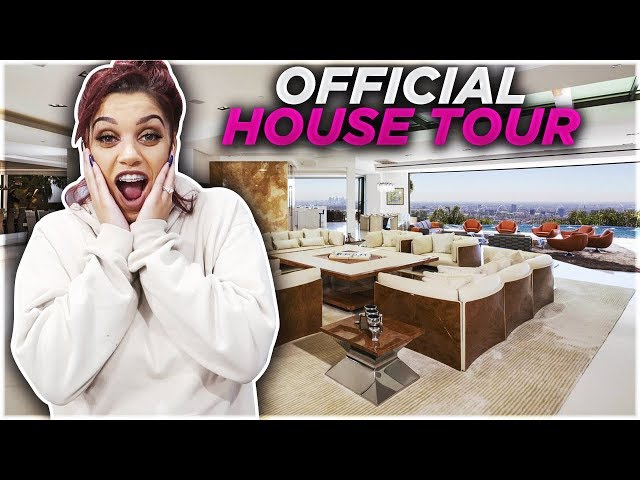 FINALLY OUR OFFICIAL FURNISHED HOUSE TOUR!!