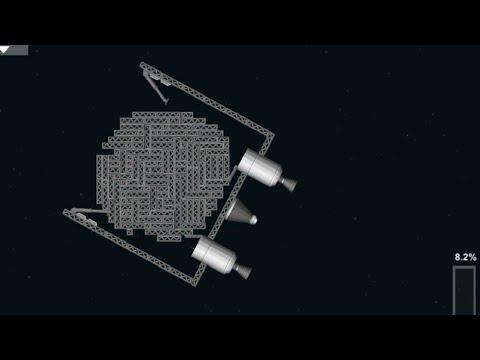 Capturing an Asteroid in Orbit - Spaceflight Simulator
