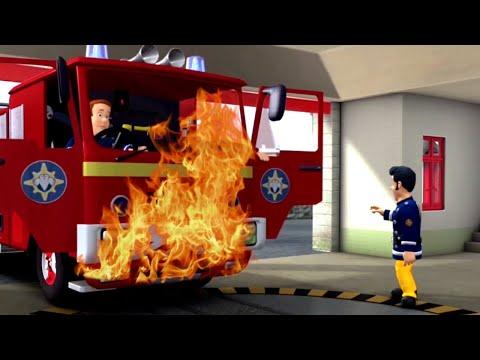 Sam el Bombero Español 🌟El problema del camión de bomberos! 🌟Nuevos episodios 🔥Dibujos animado
