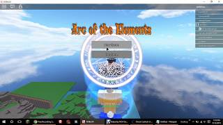 ROBLOX - Arc of Elements - GAMEPLAY - How I give myself ANY arc