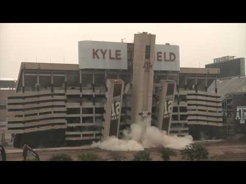 KYLE FIELD IMPLOSION (multiple angles)
