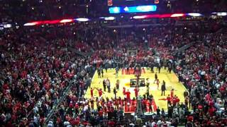 Chicago Bulls National Anthem and Player Intros before Game 2 vs. Miami Heat