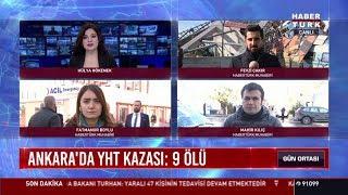 Ankara'da YHT kazası